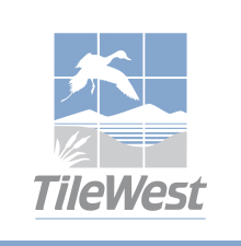 Tile West Logo